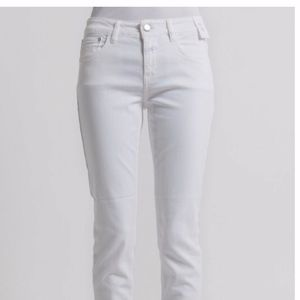 CLOSED BAKER Cropped White Denim Skinny Jeans 26